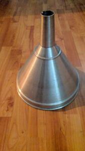 - = Aluminum funnel = -