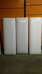 """5 - """"Cloud"""" or Puff  Covers for florescent light fixtures"""
