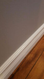 Trim and baseboard filler Service $25/h Cash only