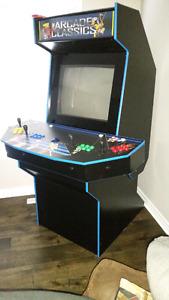 Custom made arcade cabinet