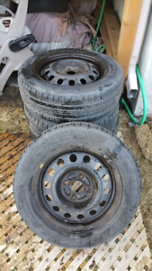 175 65 14 6/32 summer tires and rim 4x100