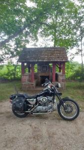 TO TRADE (W/CASH): Custom Harley Springer