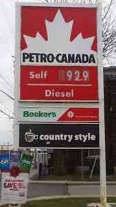 FOR SALE - Petro Canada Gas Station