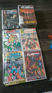 GI Joe and Transformers comics