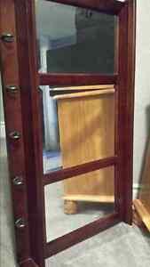 Horizontal Wall mirror with 5 hooks for sale. I have 2 sets.  Ca Belleville Belleville Area image 1