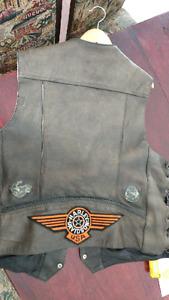 Vest moto .. Jacket harley xxl