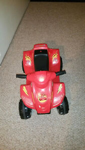 6 VOLT BATTERY OPERATED QUAD - CARS THEME