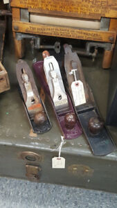 Stanley Bailey Wood Planes USA made No 7, no 4,