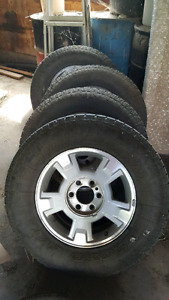 17 inch Ford factory rims and toyo tires