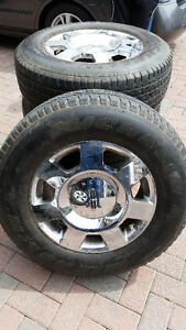 "Lincoln Navigator 18"" tires and wheels"