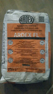 FREE & NEW 25 lbs of sanded grout - black