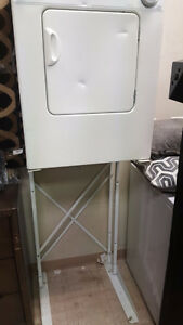 Apartment size dryer and stand
