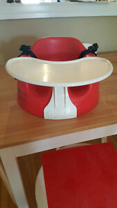 Red Bumbo with tray and belt