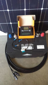 COMPLETE NEW 100W SOLAR AND DEEP CYCLE BATTERY