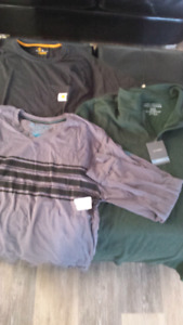 Men's clothes size xl and a few items xxl
