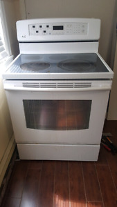 Oven with stove top