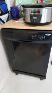 225 firm Whirlpool portable dishwasher