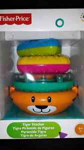 Fisher Price Tiger Stacker -- pyramide Tigre