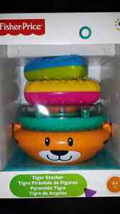 Fisher Price Tiger Stacker -- pyramide Tigre West Island Greater Montréal image 1