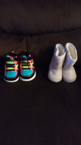 Booties size 6-12 months shoes size 2