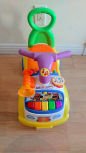 child car: Fisher Price Little People Music Parade Ride-on