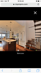 Stunning Two Level Penthouse in NDG