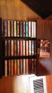 Various cassettes and cassette tray