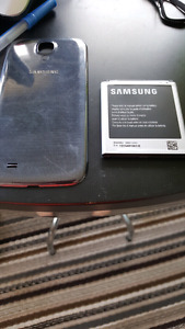 Back cover and battery