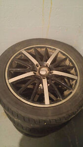 4 mags & tires 4 winter rims & tires