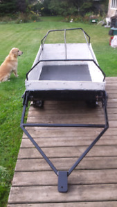 Tow Behind Sled