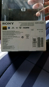 Sony HDR AS20 PLUS ACCESSORIES LBNIB ACTION CAMERA