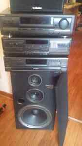 Technics complete stereo system