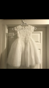 Flower girl dresses (size: 24 mos and 10)