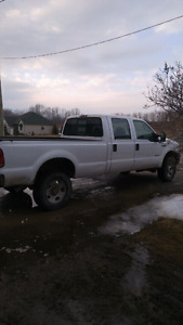 2007 f350 diesel 4x4 4 door long box certified and etested