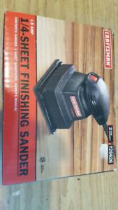 Craftsman finishing sander