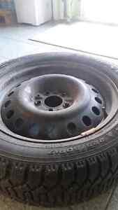 Honda Accord like brand new winter tires+rim+cap Windsor Region Ontario image 3