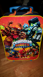 Skylander Giants suitcase