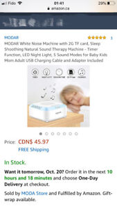 Sleep Shoothing Natural Sound Therapy Machine