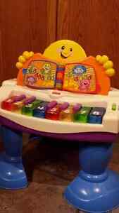 Fisher Price Laugh & Play Baby Grand Piano Strathcona County Edmonton Area image 1