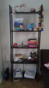 Selling TV Stand, Book Shelf and Floor Lamp.