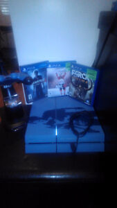 PS4, Controller, controller charger stand, 3 games...all new Moose Jaw Regina Area image 2