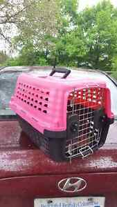 Pink Petmate carrier