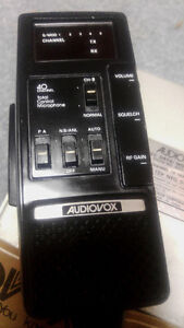 **READ AD**Audiovox MDU-6000A CB Radio-40.00 FIRM