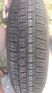 P155/80R13 Marshal Tire on Steal Rim