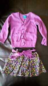 Size 24 Month Cardigan & skirt