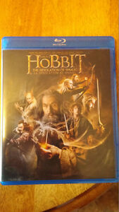 Excellent Condition-The Hobbit The Desolation of Smaug BluRay
