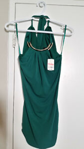 (Brand new) Le chateau xxs green halter top