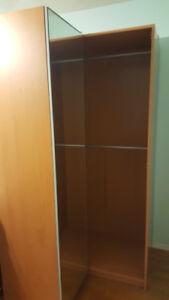 Ikea Wardrobe Mirror Doors corner