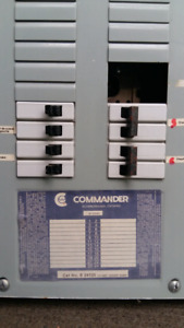 Panneau COMMANDER 125 AMP
