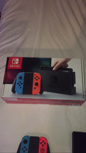 Nintendo Switch (Neon) Package